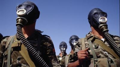 la proxima guerra quimica en siria mascaras de gas assad