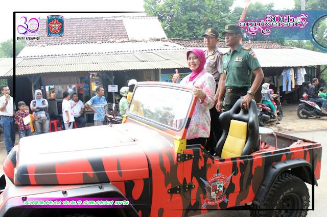 Kepala SMAN 1 Kaliwungu dan Kapolsek Kaliwungu