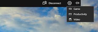 Cepat Beralih antar mode saat menggunakan Proyeksi Nirkabel di Windows 10