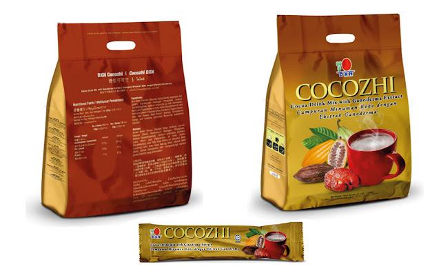 Cocozhi ® está formulado a partir del cacao más fino con extracto de Ganoderma. Se encuentra en una presentación en polvo lista para beber, que le da un sabor de chocolate. Sólo vierta el contenido en una taza de agua caliente y mezcle para disfrutar de una bebida revitalizante adecuada para toda la familia.