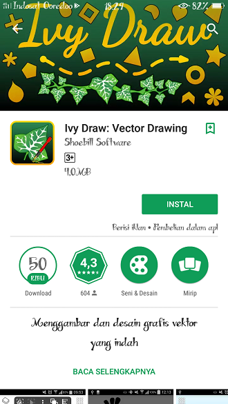Ivy Draw: Vector Drawing