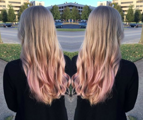 20 Ideas para cabello Rose Gold