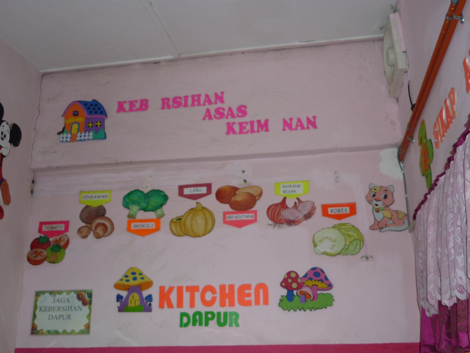 Hiasan Dapur Tadika Desainrumahid