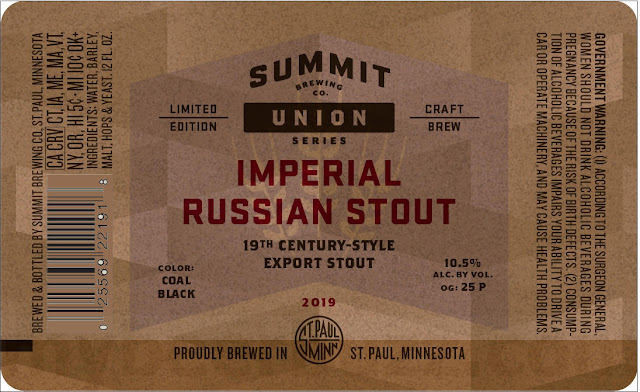 Summit Brewing Imperial Russian Stout Coming To 2019 Union Series