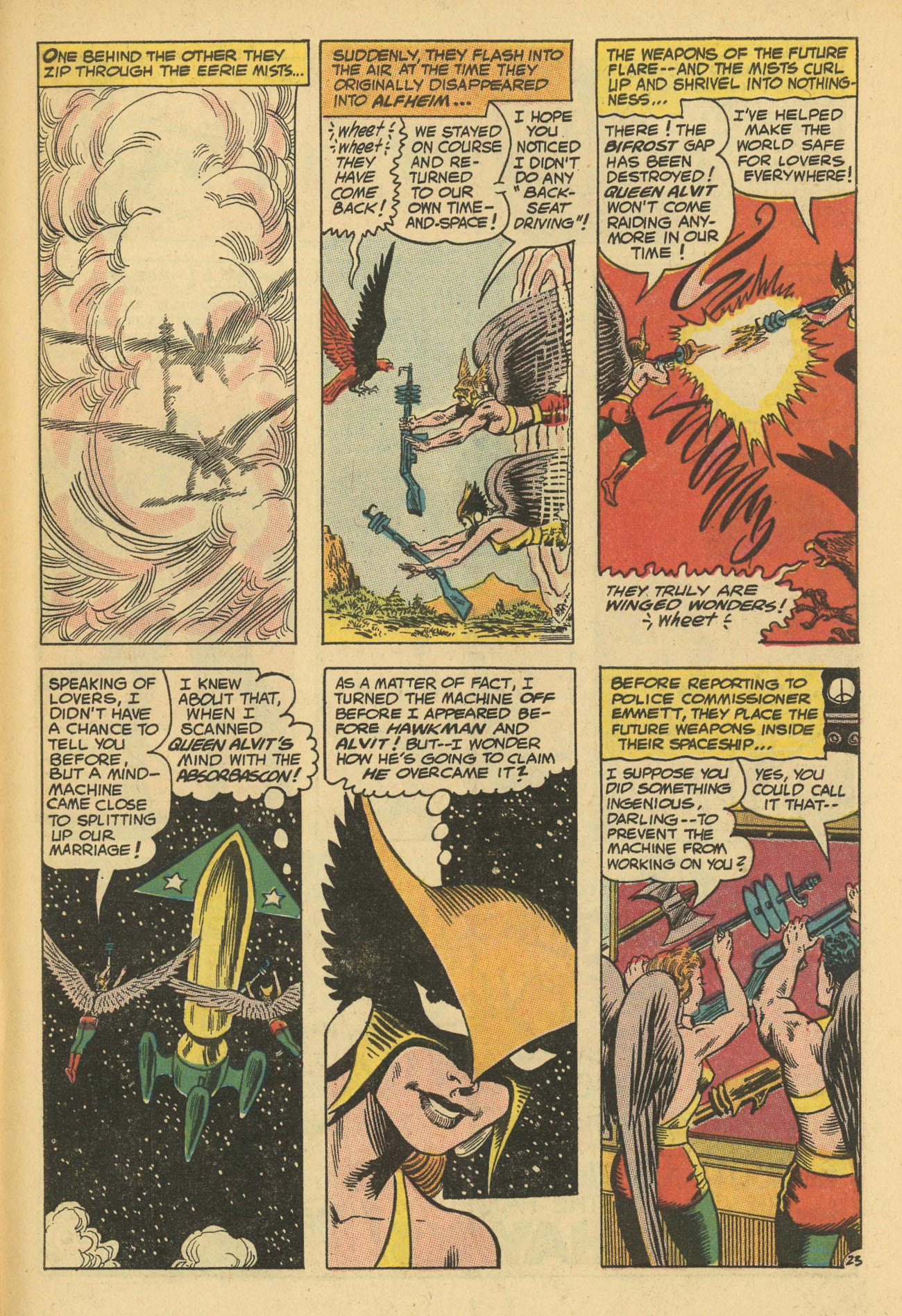 Hawkman (1964) issue 13 - Page 31