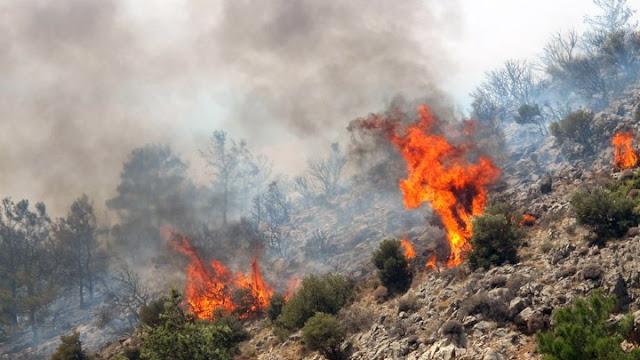 Στο κόκκινο η Αργολίδα για πυρκαγιές την Τετάρτη 29 Ιουλίου
