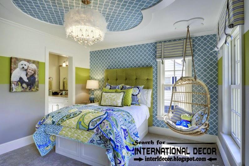 gypsum ceiling designs for nursery, kids ceiling designs, blue ceiling