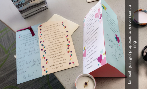U S Simone Biles Receives Marriage Proposal Letter And