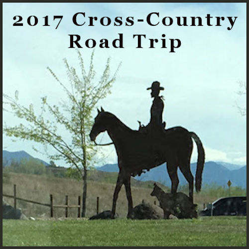2017 CROSS-COUNTRY ROAD TRIP