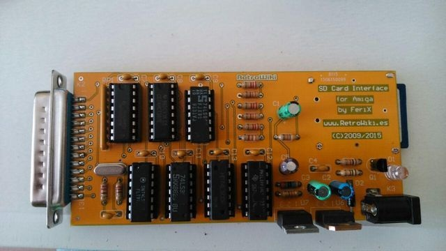 Indie Retro News: An SD Card Interface for your Amiga? Oh Yes!