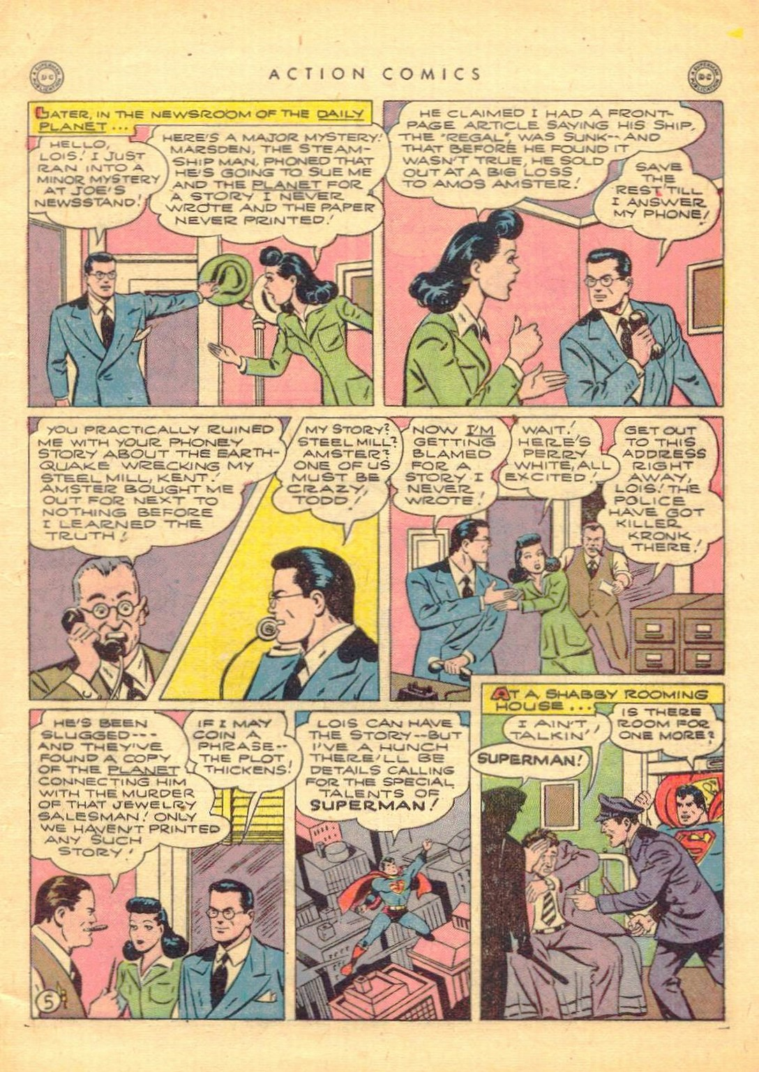 Read online Action Comics (1938) comic -  Issue #77 - 6
