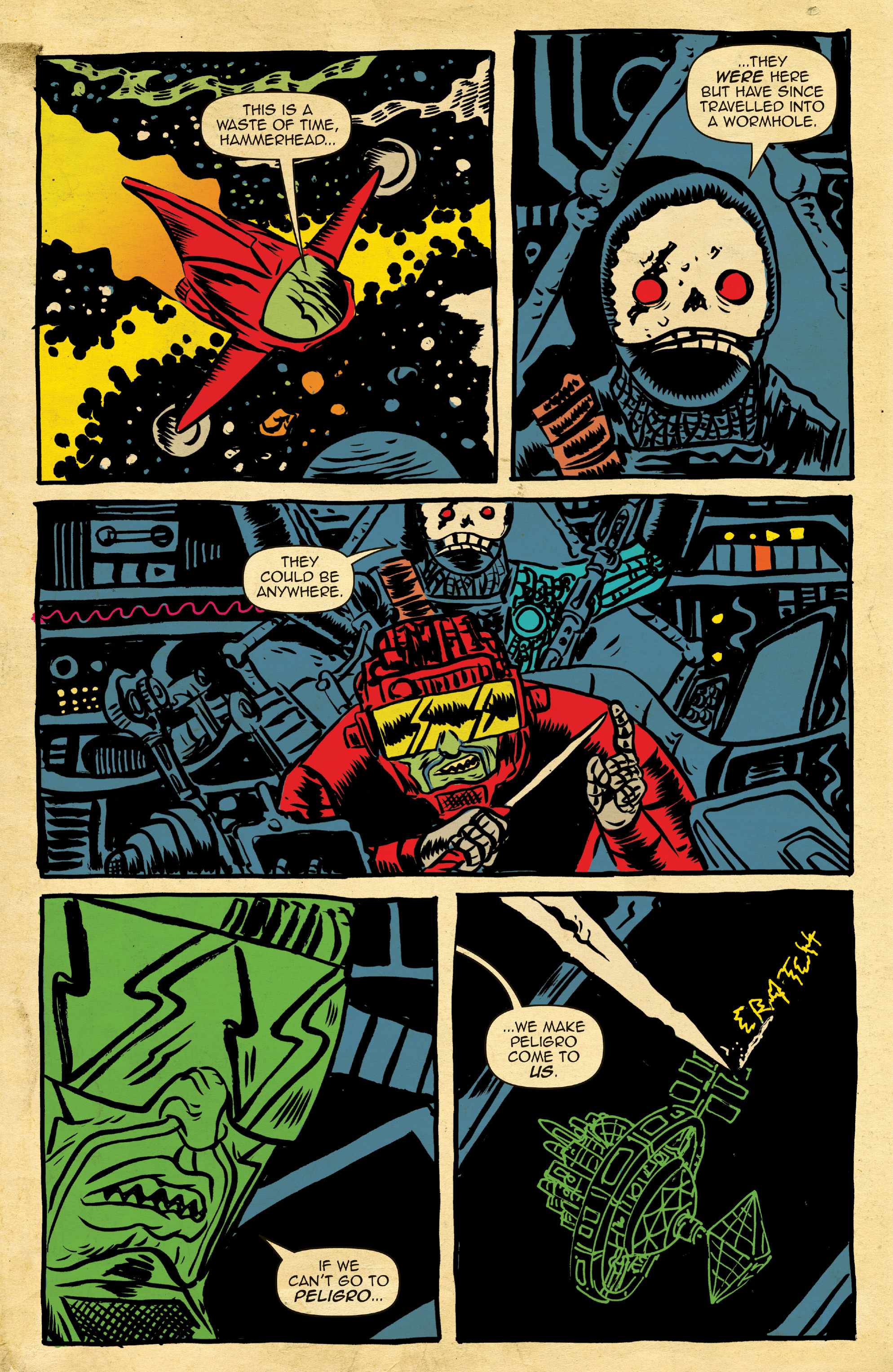 Read online Space Riders comic -  Issue #4 - 5