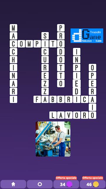 Soluzioni One Clue Crossword livello 26 schemi 11 (Cruciverba illustrato)  | Parole e foto