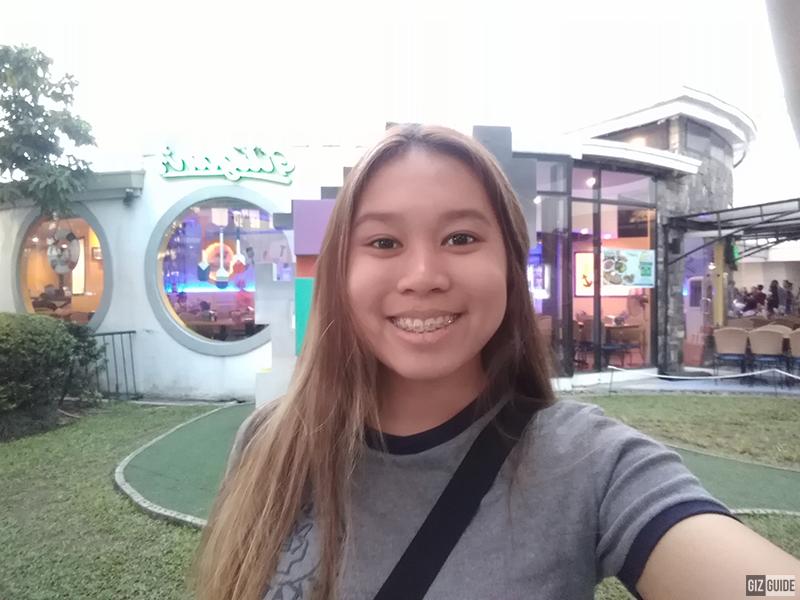 Huawei Y6 2018 Daylight Selfie
