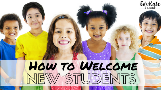How to Welcome New Students