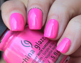 China Glaze Lite Brites I'll Pink To That