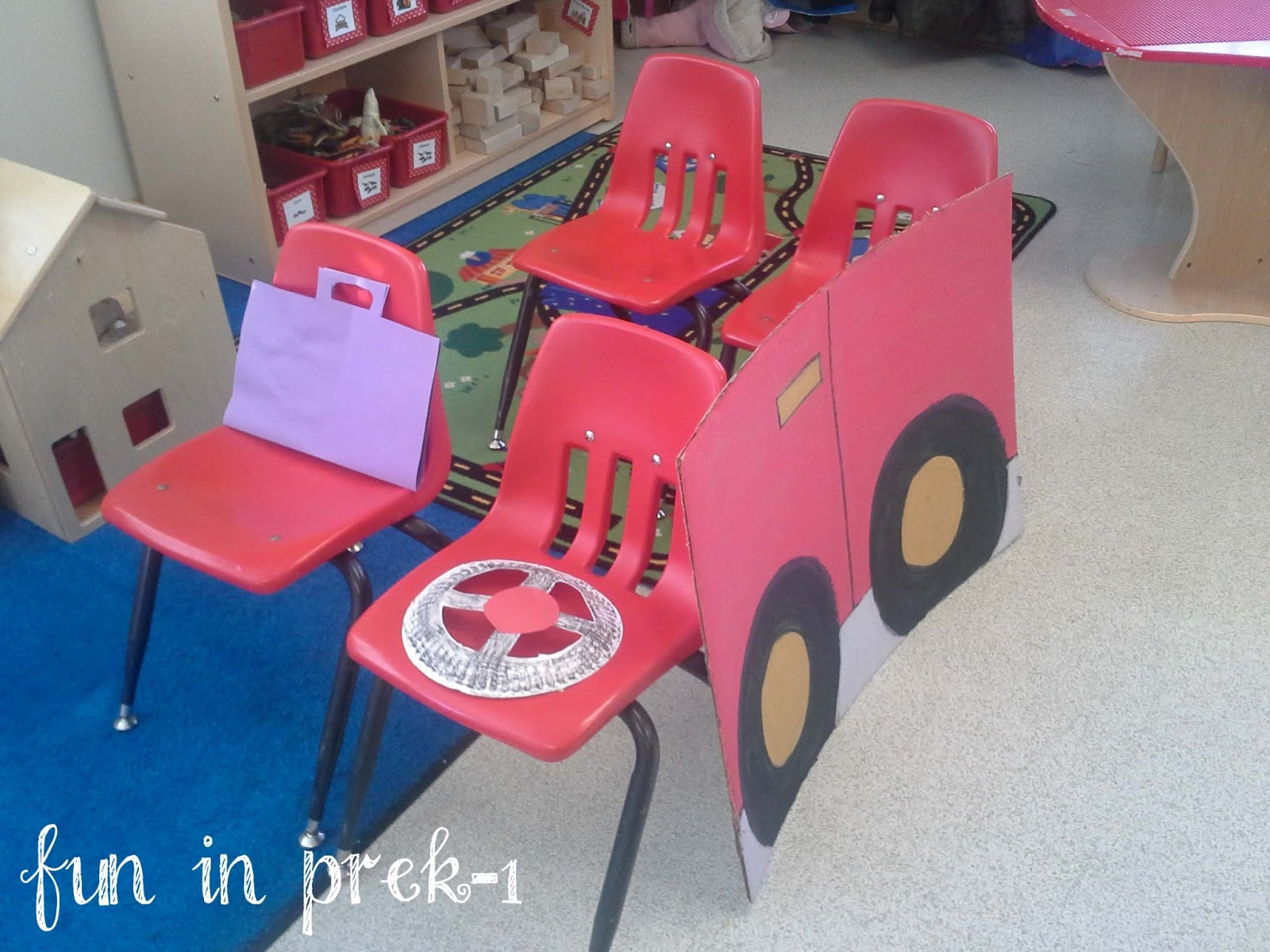 Fun In PreK-1: Transportation Take One: Lovin' The Land