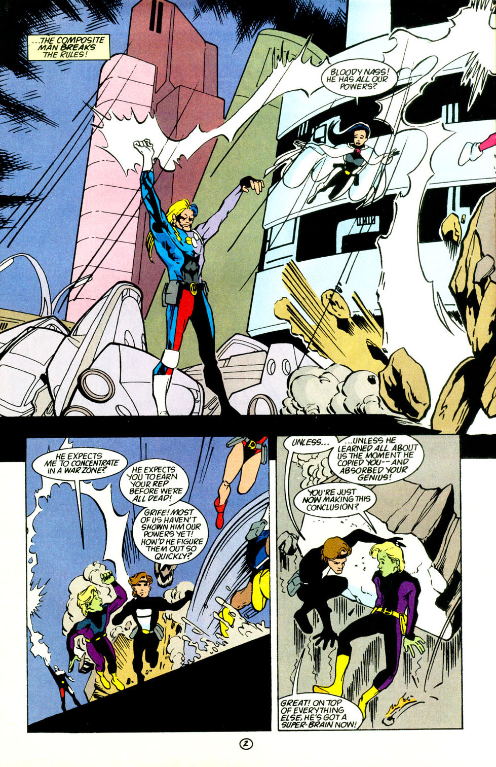 Legion of Super-Heroes (1989) 69 Page 3