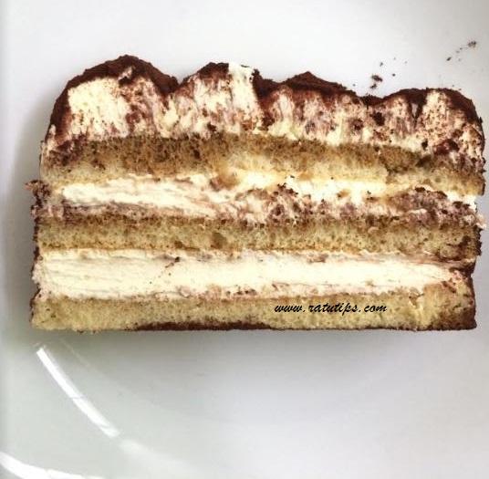 Review Chocolate Tiramisu The Harvest, Cake Paling Enak dan Melted!