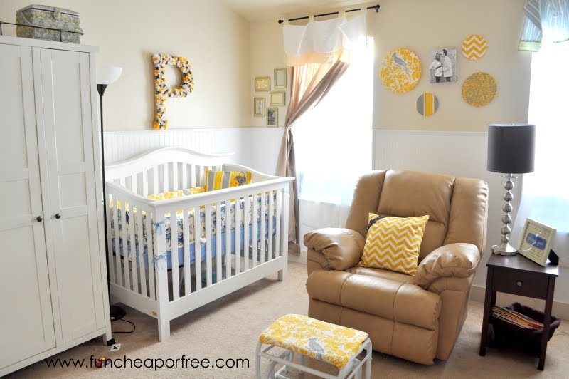 Our Yellow Gray Nursery