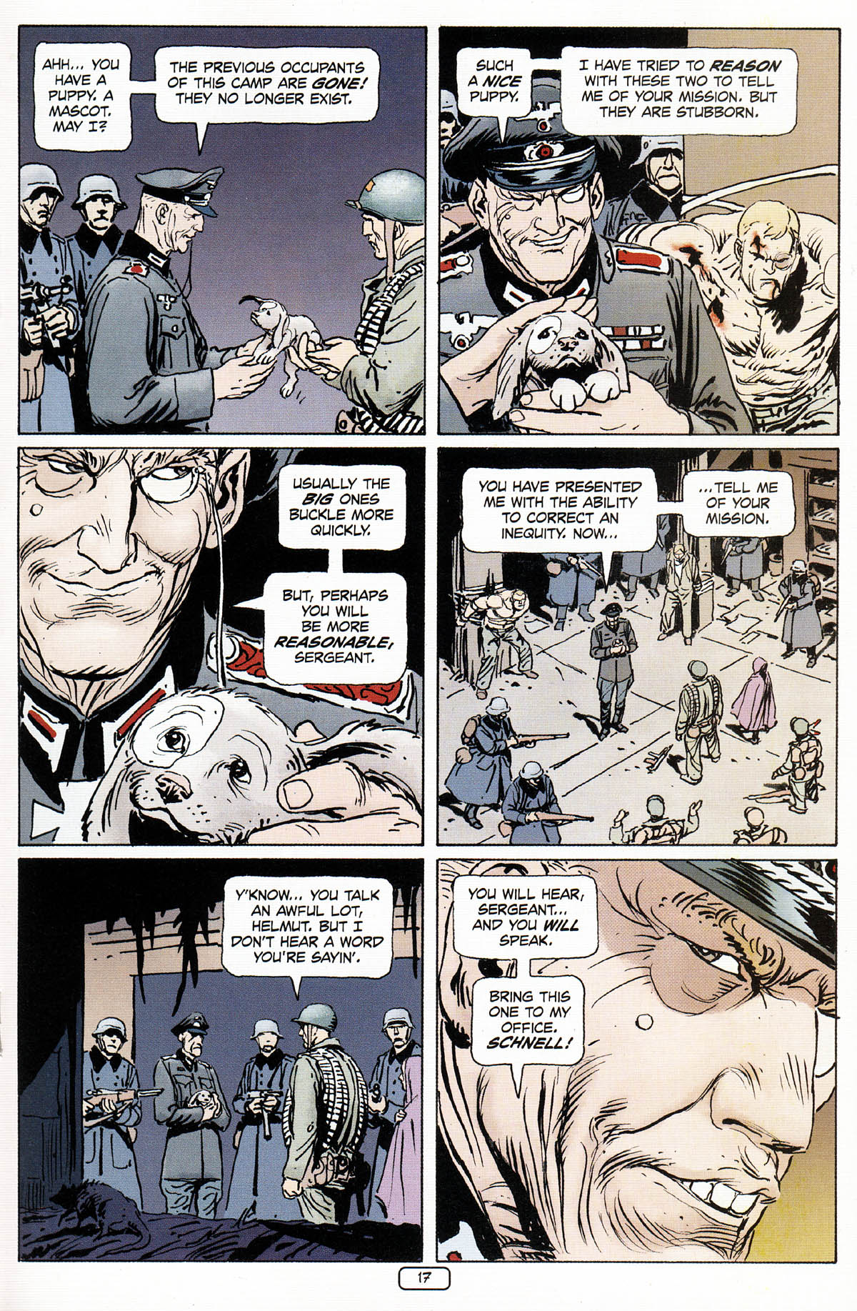 Read online Sgt. Rock: The Prophecy comic -  Issue #3 - 18