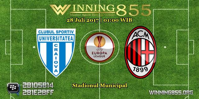 Prediksi Skor Universitatea Craiova vs AC Milan