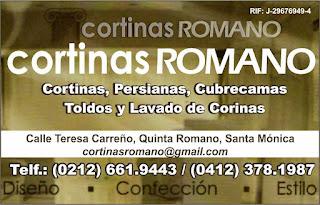 CORTINAS ROMANO  en Paginas Amarillas tu guia Comercial