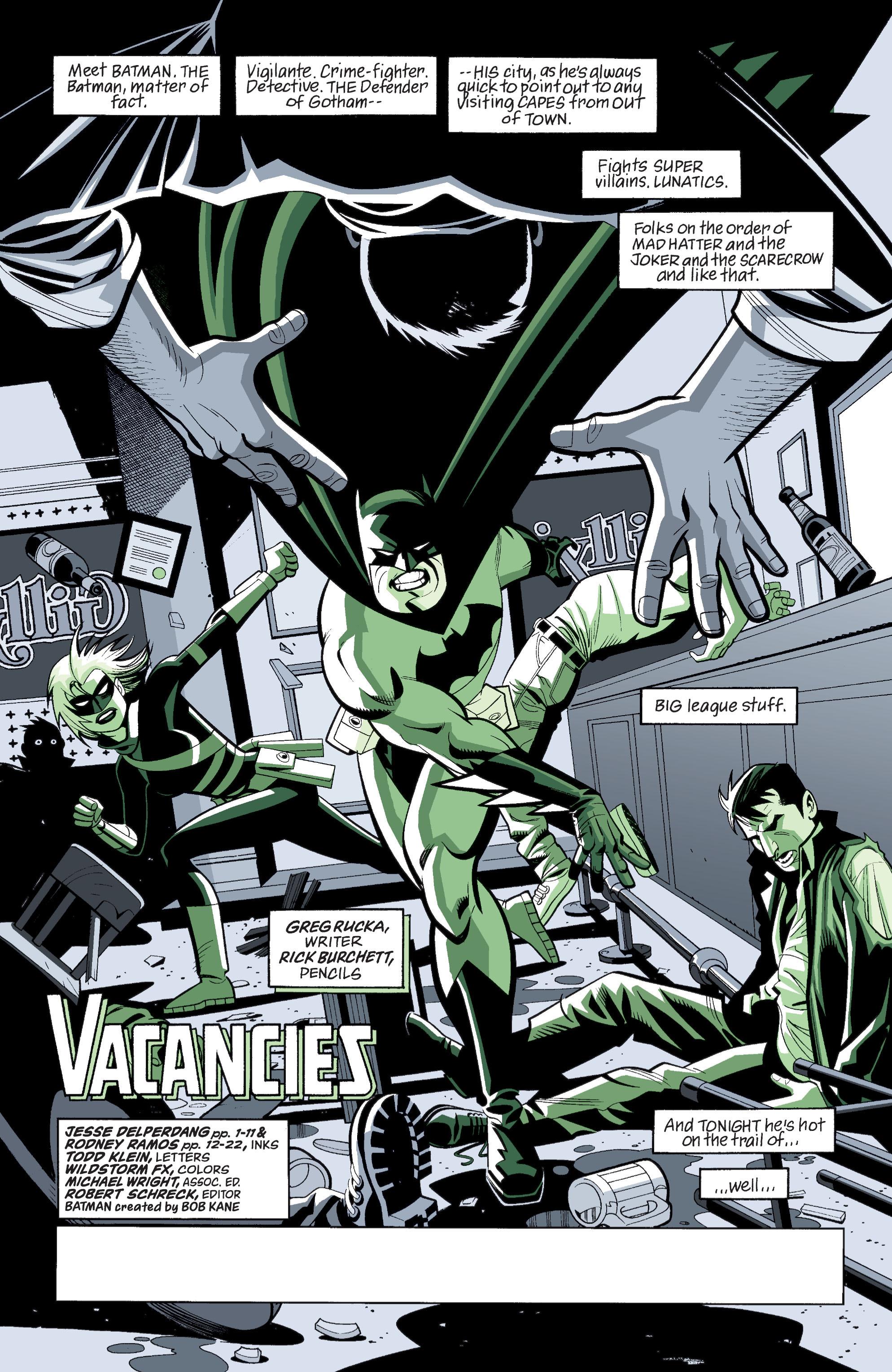 Detective Comics (1937) 765 Page 1