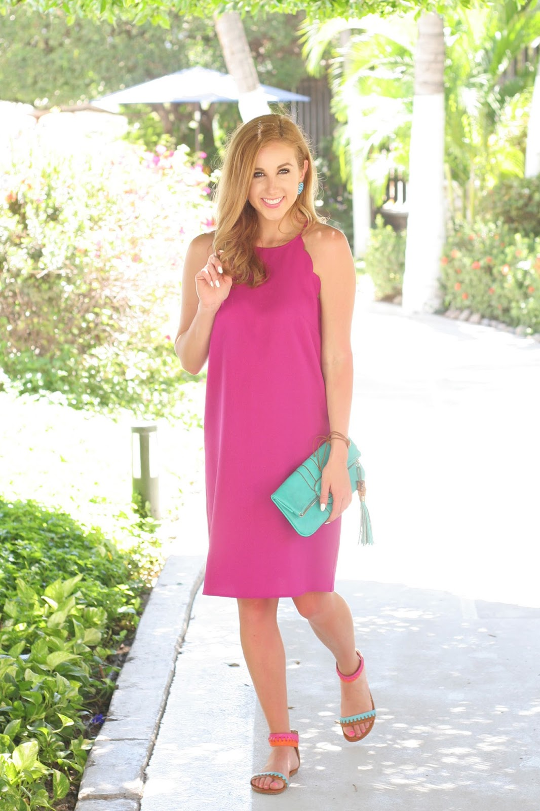 The-perfect-resort-summer-vacation-dress-hot-pink