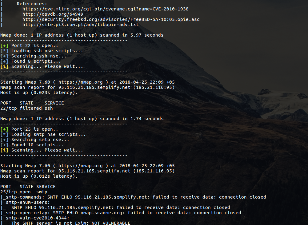 AutoNSE - Massive NSE (Nmap Scripting Engine) AutoSploit And
