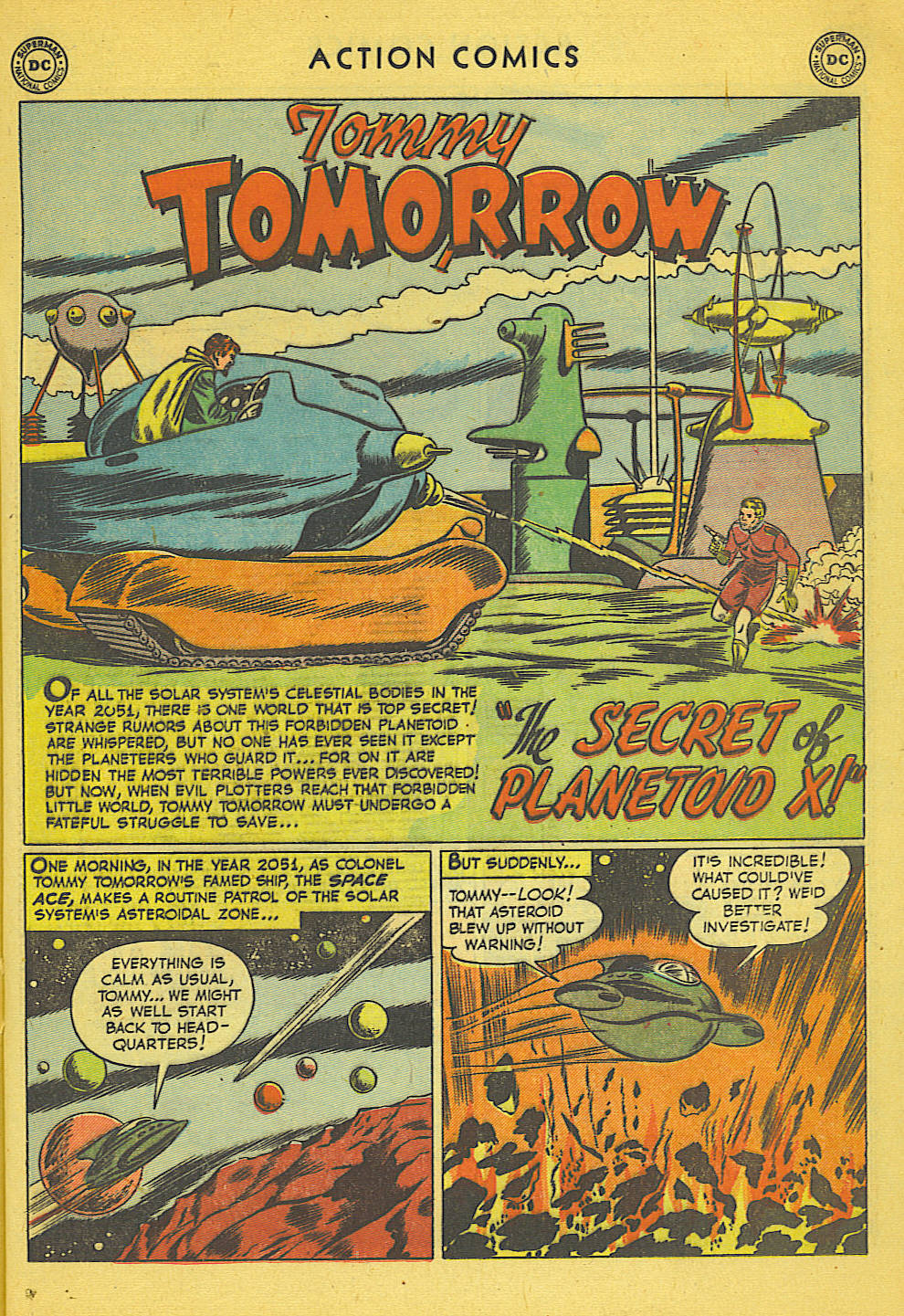 Read online Action Comics (1938) comic -  Issue #158 - 22