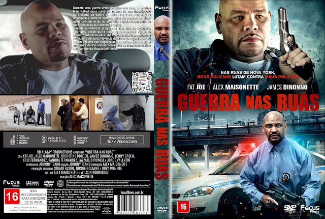 Capa DVD Guerra nas Ruas [Custom]