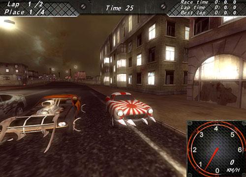 تحميل لعبة سباق قتال الزومبى بالسيارات Armageddon Racers برابط مباشر