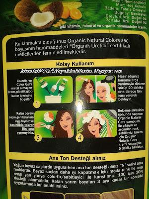 Natural Colors Organik Boya 10 C Açık Küllü Sarı