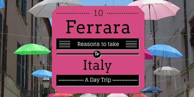 Day Trip to Ferrara Italy - http://www.sidewalksafari.com/2015/08/10-reasons-to-visit-ferrara-italy.html
