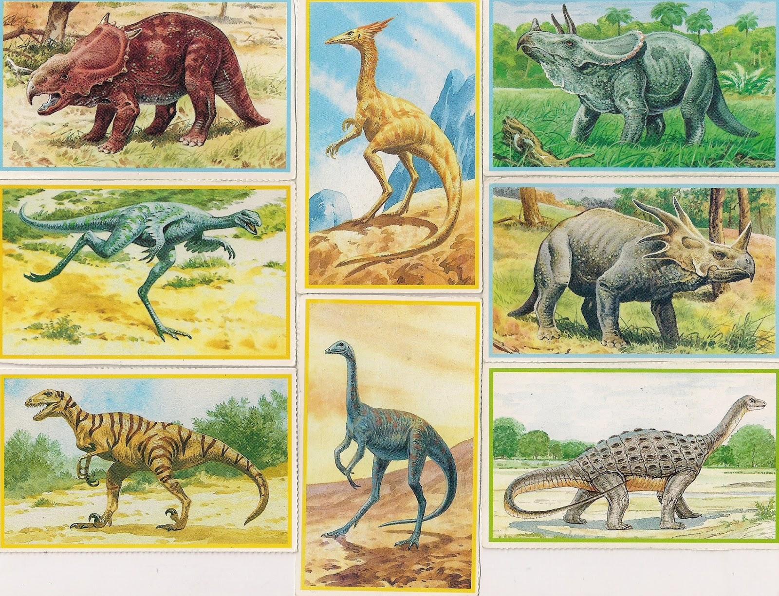 Nomi di dinosauri con foto