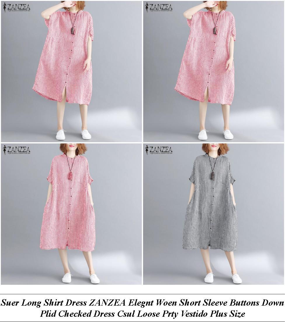Party Dresses Online Australia Plus Size - Shop Womens Fashion Online Usa - Royal Lue And White Dress