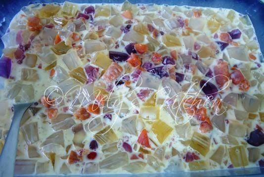 how to make fruit cocktail salad