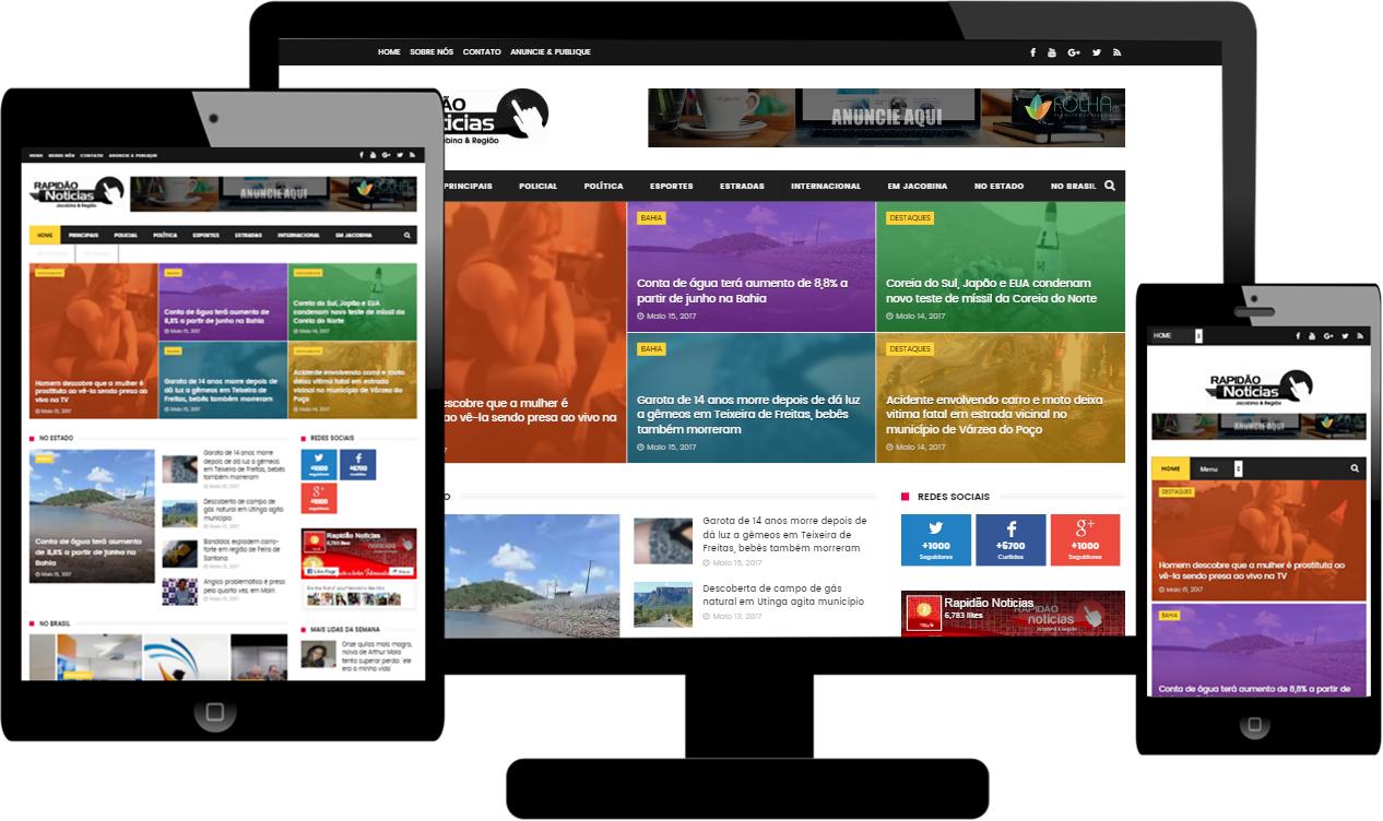 FOLHA Criação de Blogs Profissionais