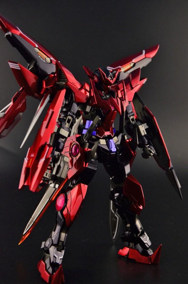 Custom Build: MG 1/100 Gundam Exia Dark Matter Exia ...