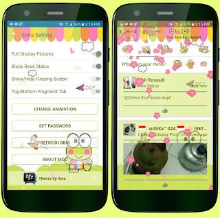 BBM MOD Keropi v3.2.2.8 APK Terbaru Free Download For Android