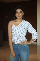 Avantika Mishra in One Shoulder Crop Top and Denim Jeggings ~  Exclusive 004.JPG