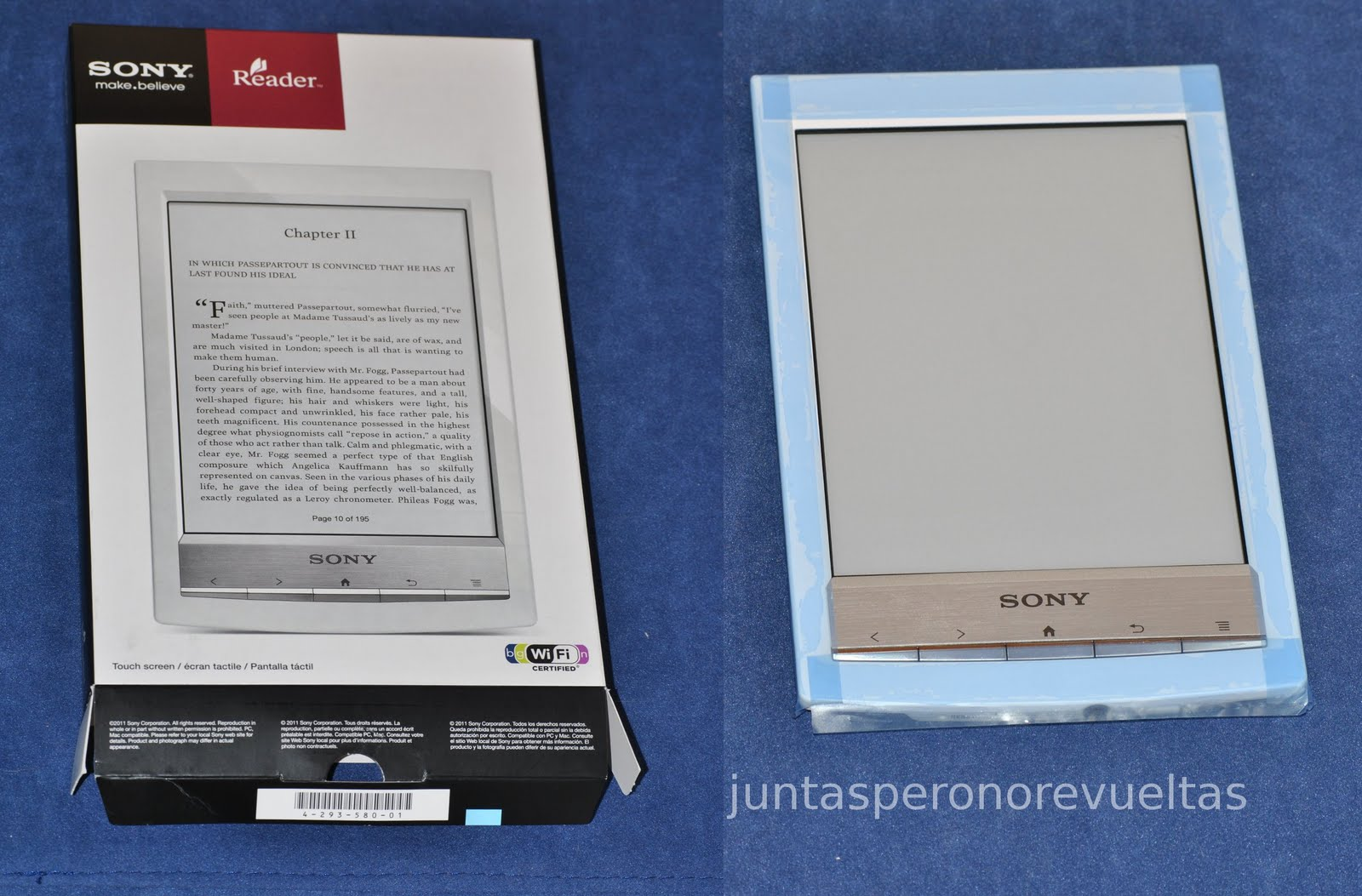 Libro Electronico Sony Prs T1 Juntas Pero No Revueltas Together Yet Apart Lector