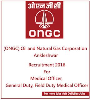 ONGC Job