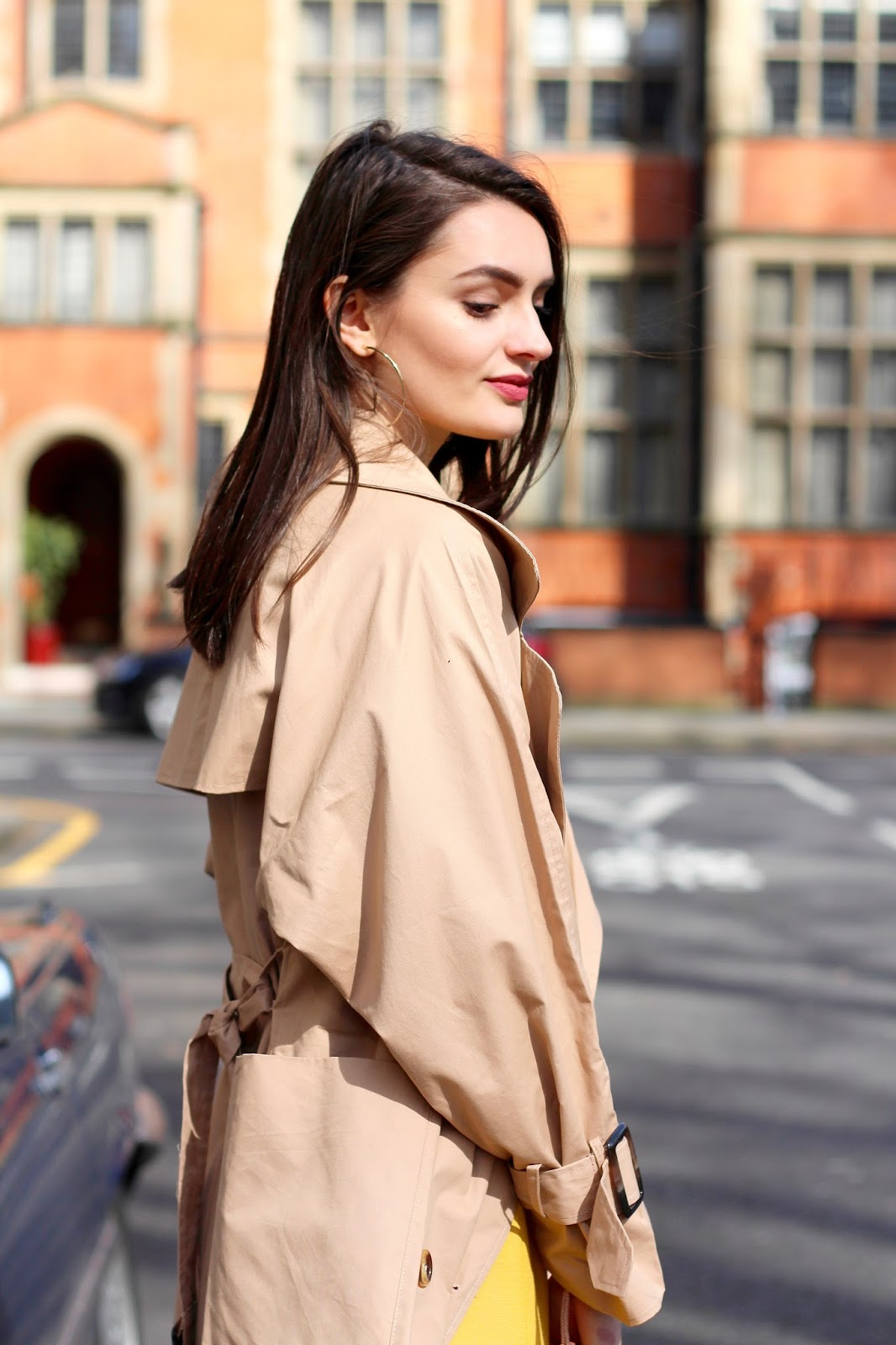 boohoo trench coat peexo spring blog