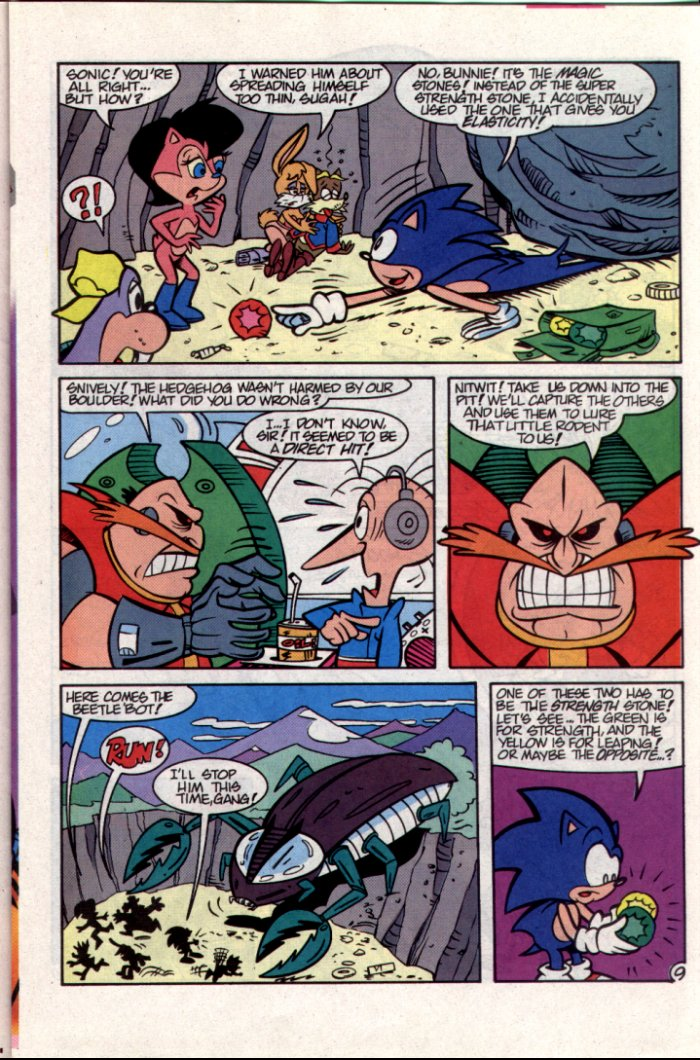 Read online Sonic The Hedgehog comic -  Issue #15 - 10