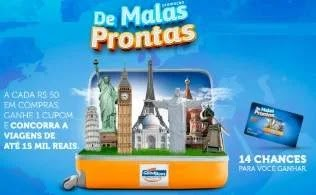 Cadastrar Promoção De Malas Prontas GoodBom Supermercados - Concorra Viagens