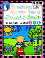 https://www.teacherspayteachers.com/Product/FREEBIE-The-Curious-Garden-Mentor-Text-Intermediate-Grades-2453193