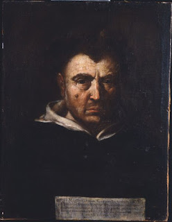 Tommaso Campanella, as depicted by the  Italian painter Francesco Cozza