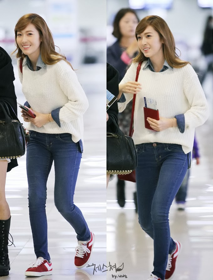 Snsd Jessica Airport Fashion Official Korean Fashion
